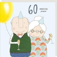 Rosie Made a Thing '60 Amazing Years' Card
